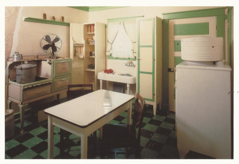 The Grace Museum - Abilene, Texas, 1928 Kitchen