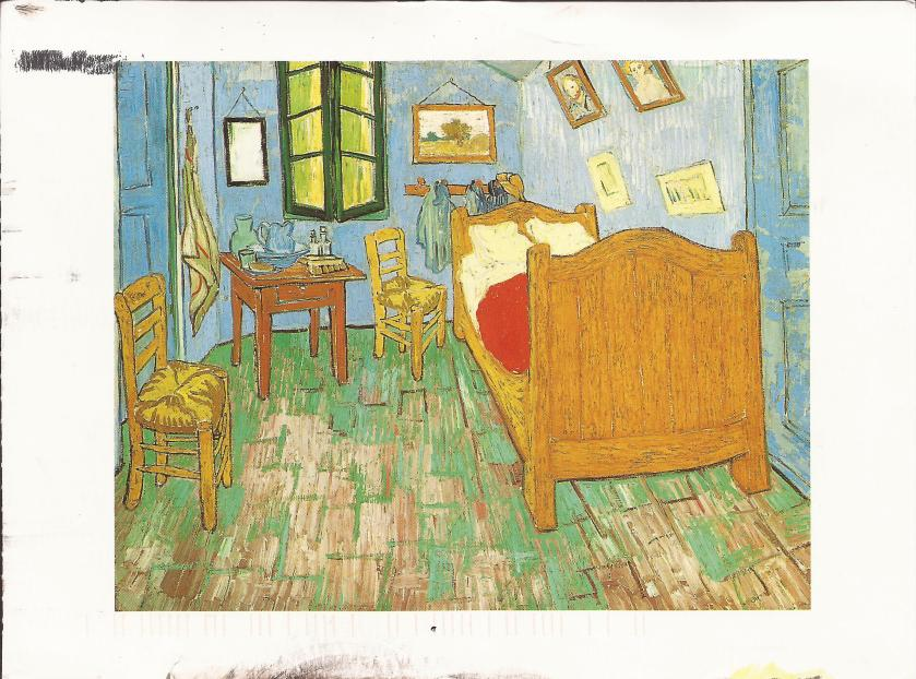 Vincent Van Gogh, The Bedroom, 1889