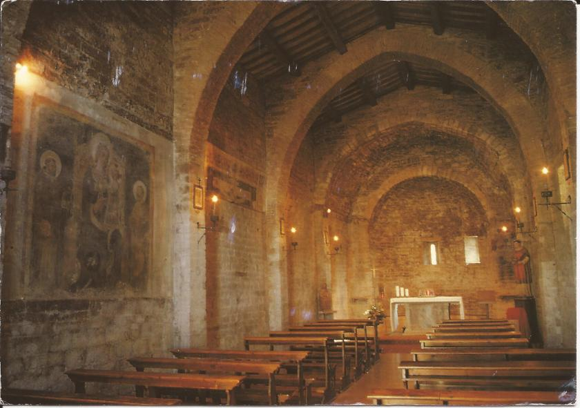 11th century church, Assisi