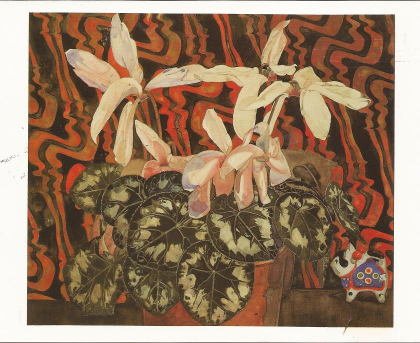 Charles Rennie Mackintosh, Cyclamen, 1922