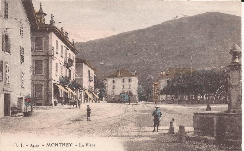 Monthey,  - La Place