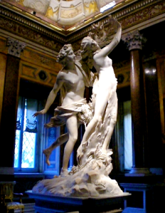 Bernini Daphne and Apollo